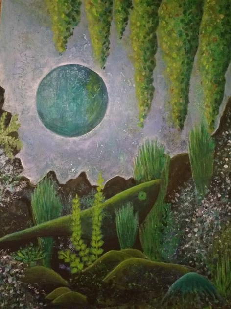 Onder de blauwe maan