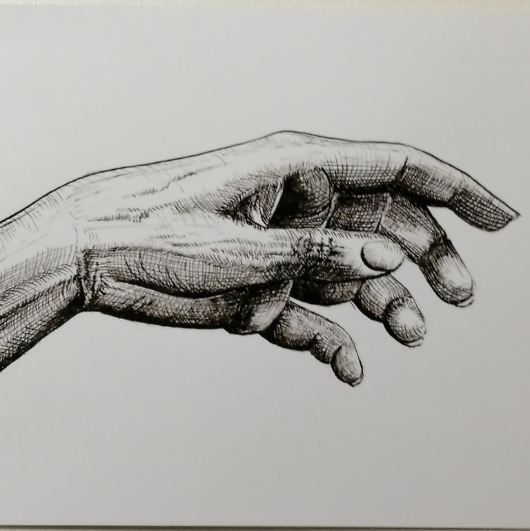 Eigen hand