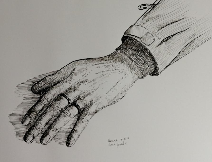 Hand van Yvette