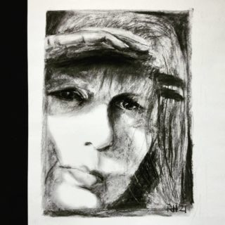 And I  . . . #art #drawing #drawingaday #academicdrawing #sketching #portret #portraits #klassiekeacademie